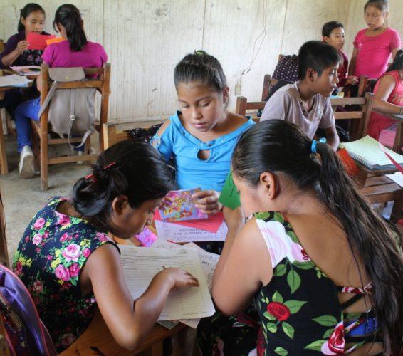 Niñas y niños: Actividades para el desarrollando de capacidades