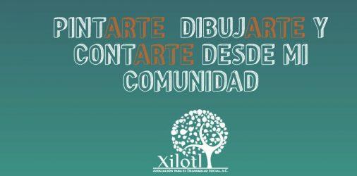 PintArte, dibujArte y contArte desde mi Comunidad