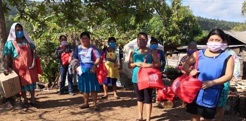 Xilotl apoya a las familias de las comunidades de Ocosingo, Chiapas.