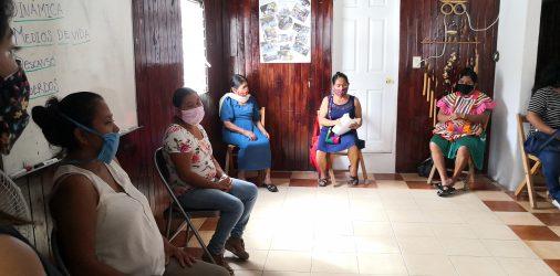 Mujeres de Ocosingo Chiapas y el COVID19