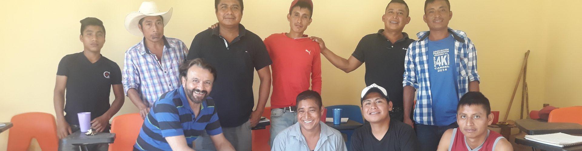 ¿Cómo aprendimos a ser hombres?; Taller impartido por Rosario y Canuto