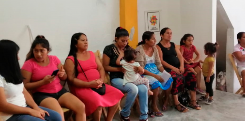 Mujeres reflexionando desde su cosmovisión indígena